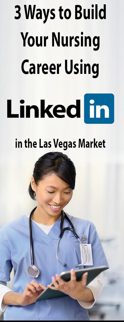 build network as nurse using linkedin