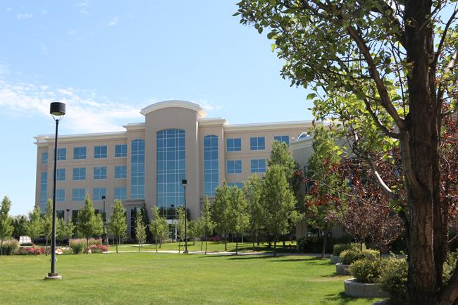 Roseman University Salt Lake campus building