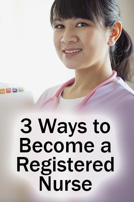 ways to become a nurse